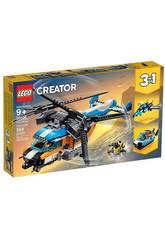 Lego Creator Hubschrauber mit doppelten Propeller 31096