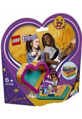 Lego Friends Boite Coeur de Andrea 41354