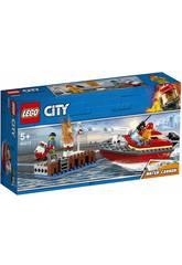 Lego City Llamas en el Muelle 60213