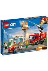 Lego City Fire Rescate del Incendio de la Hamburguesería 60214