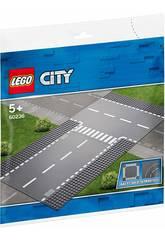 Lego City Recta e Intersección en T 60236