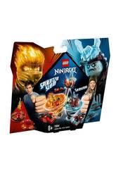 Lego Ninjago Spinjitzu Slam Kai vs. Samurái 70684