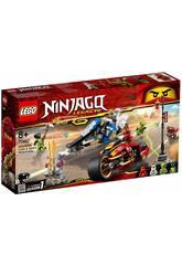 Lego Ninjago Moto de Kai et Scooter des neiges de Zane 70667