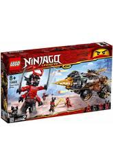 Lego Ninjago La Foreuse de Cole 70669