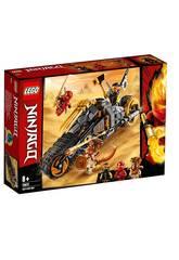 Lego Ninjago Moto Tout Terrain de Cole 70672