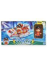 Pinypon Action Bateau de Sauvetage avec Figurine Famosa 700015050