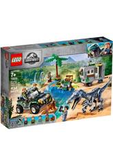 Lego Jurassic World Encontro Com O Baryonyx Caça do Tesouro 75935