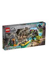 Lego Jurassic World T-Rex Vs Dinosaure Robotique