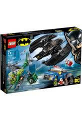 Lego Super Heroes Bat-aereo di Batman™ e la rapina dell'Enigmista 76120
