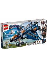 Lego Super Heroes Avengers Quinjet Definitivo 76126