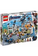 Lego Super Heroes Avengers Batalla en el Complejo 76131