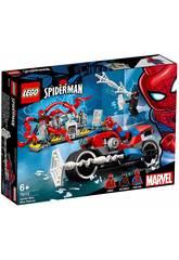 Lego Super Heroes Sauvetage en Moto de Spiderman 76113