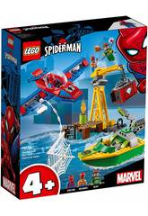 Lego Super Heroes Spiderman Robo de Diamantes de Doc Ock 76134