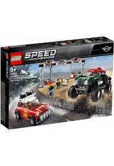 Lego Speed Champions Mini Cooper S Rally 1967 et Mini John Cooper Works Buggy 2018 75894