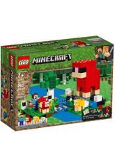 Lego Minecraft La Fattoria di Lana 21153