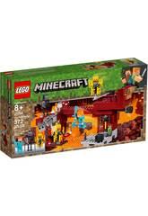 Lego Minecraft Le Pont de Blaze 21154