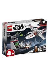 Lego Star Wars Assaut de la Tranchée avec Chasseur Stellaire X-Wing 75235
