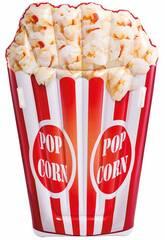 Matelas Gonflable Design Popcorn Réaliste 178 x 124 cm. Intex 58779