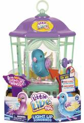 Little Live Pets Leuchtender Vogel mit Käfig Serie 8
