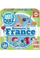 Defi Quiz Découvre La France Francés Educa 18155