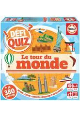 Defi Quiz Le Tour Du Monde Francés Educa 18156