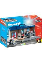 Playmobil Commissariat Mallette 5689