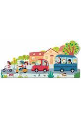 Puzzle XXL Véhicules Goula 453428