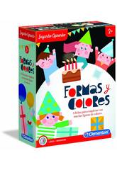 Jugando Aprendo Formas y Colores Clementoni 55302