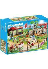 Playmobil Granja de Ponis 70166