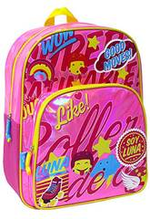 Mochila Soy Luna Rosa Brillante Toybags T323-048