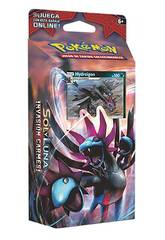 Pokémon Juego de Cartas Coleccionables Sol y Luna Baraja 60 Cartas Asmodee POSMSL01