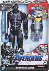 Avengers Personaggio Black Panther 30 cm con Cannone Power FX Hasbro E3306