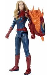 Avengers Capitana Marvel 30 cm. con Cañón Power FX Hasbro E3307