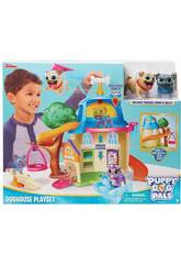 Bingo & Rolly Station de Jeux Doghouse avec Figures 2 Figurines Giochi Preziosi PUY01000