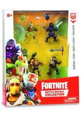 Fortnite Pack 4 Figuren 5 cm. Limitierte Edition Giochi Preziosi FRT14000