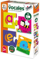 Gioco Educativo 4 Puzzle Form Diset 49242