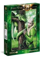 Puzzle 1000 Anne Stokes Kindred Spirits Clementoni 39463