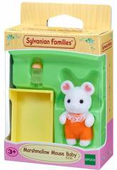 Sylvanian Families Bébé Souris Marshmallow Epoch Para Imaginar 5336