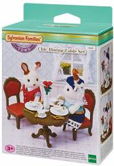 Sylvanian Families Town Set Table à Manger Chic Epoch Para Imaginar 5368
