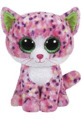 Peluche Chat Rose 15 cm Sophie TY 36189TY