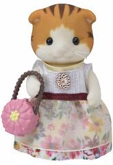 Sylvanian Families Town Set Miranda Gatto Maple Epoch Per Immaginare 5363