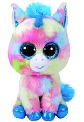Peluche Unicornio Azul 23 cm. Blitz TY 37261TY
