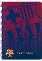 Caderno Folha Tampas Duras 80 f. FCB Safta 511825066