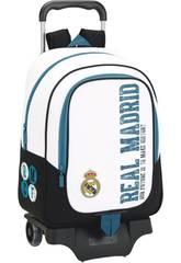 Zaino Trolley Real Madrid 17/18 Safta 611754313