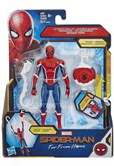 Spiderman Far From Home Figura 15 cm. con Accessorio Hasbro E3547