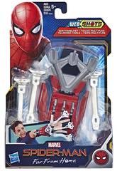 Spiderman Blaster Lança Redes Hasbro E3566