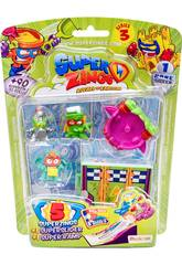 Superzings Blister 5 Figurines Series 3 Magic Box Toys PSZ3B516IN00
