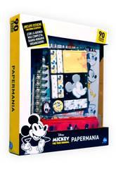 Planificateur Mickey Mouse 90 Anniversaire Papermania avec des Accesoires Cife 41349