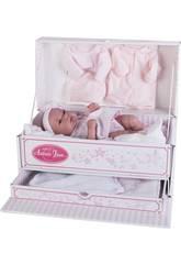Muñeca Baby Toneta Baúl 33 cm. Antonio Juan 6027