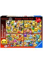 Puzzle Emoji 4x100 Pièces Ravensburger 6967